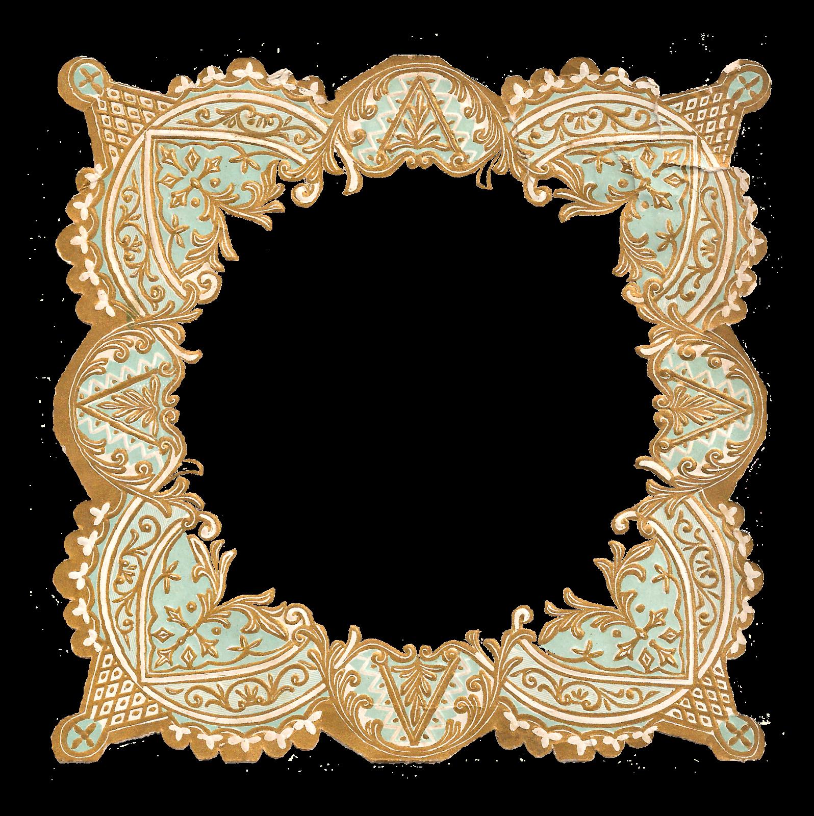 The Graphics Monarch: Digital Craft Supply Frame Border Decorative ...