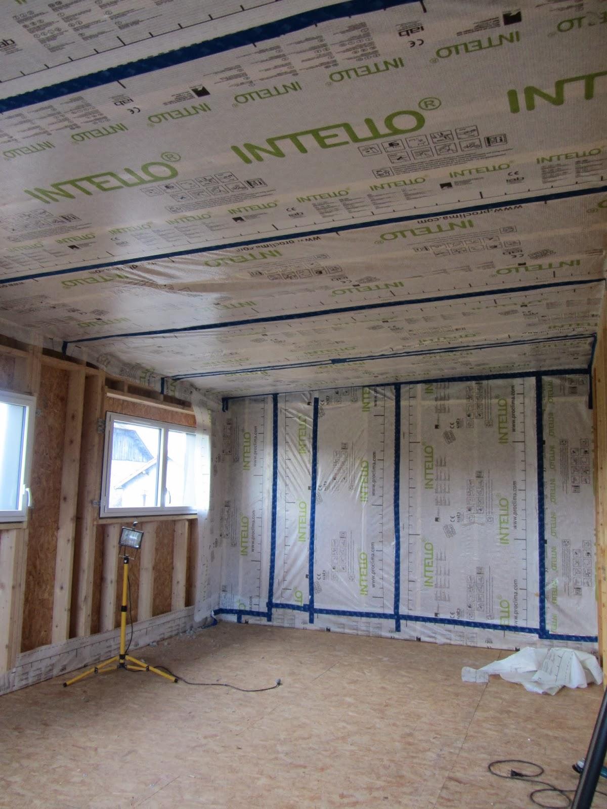 construction d 39 une maison ossature bois dans le 64. Black Bedroom Furniture Sets. Home Design Ideas