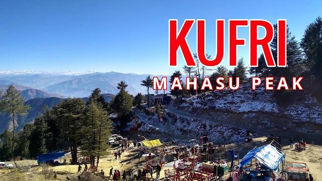 Mahasu Peak Kufri Shimla Índia