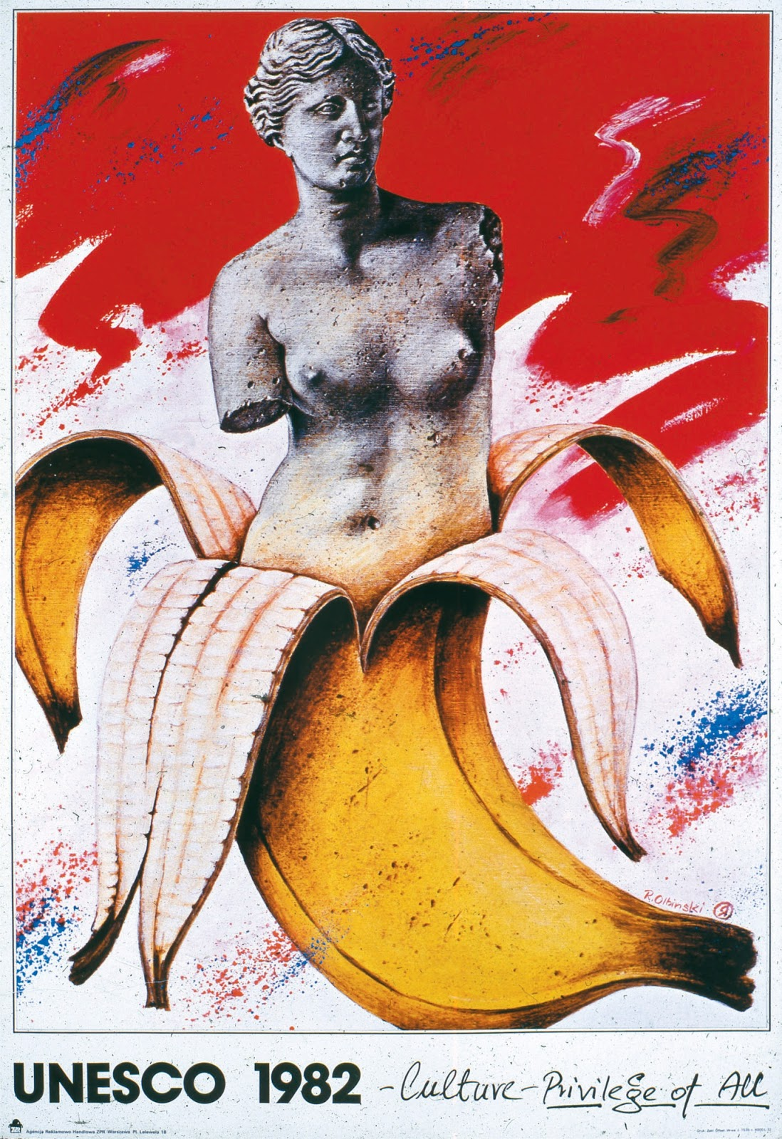 Olbiński Pasja Plakatów Czyli świetny Plakat Artystyczny