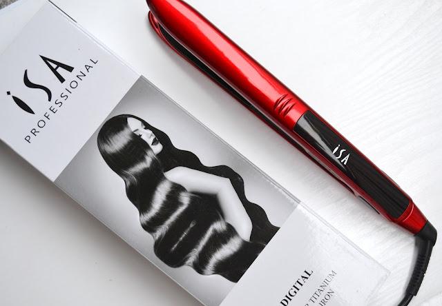 ISA Professional Digital Titanium Flat Iron Hair Straightener Review
