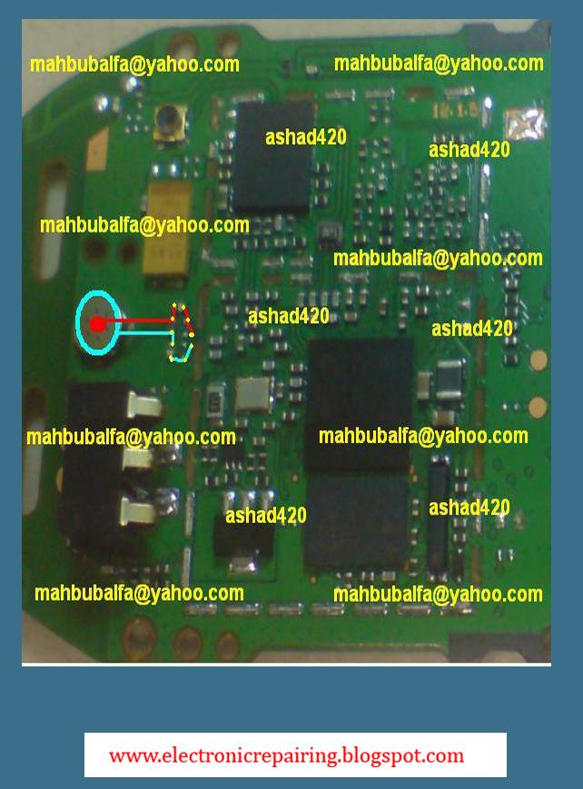 Nokia 1280 Mic solution  Electronic Repairing