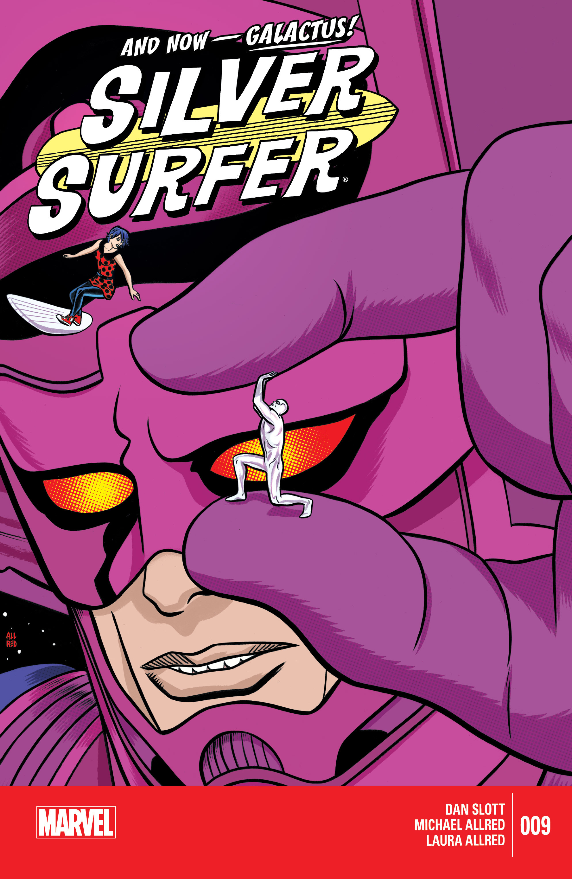 Read online Silver Surfer (2014) comic -  Issue #9 - 1