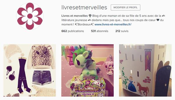 Livres et merveilles sur Instagram - Mois de novembre 2015