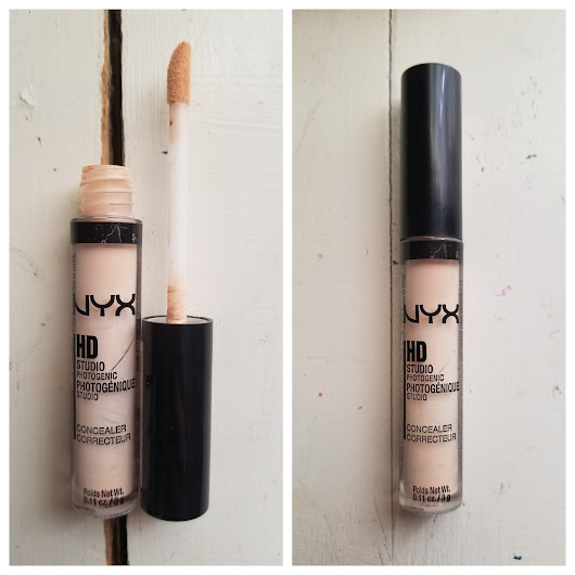 First Impression / Review Nyx HD Concealer/ Nyx #NoFilter Baked Finishing Powder