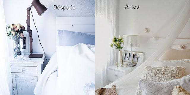 Pequeños cambios en casa (Antes y Después)
