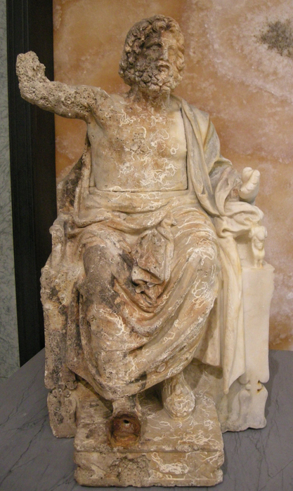 'Zeus Enthroned' statue returned to Italy