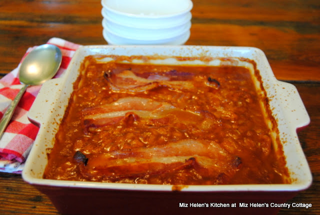 Old Fashioned Baked Beans at Miz Helen's Country Cottage