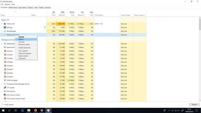 Memunculkan Icon Baterai yang Hilang di Windows 10