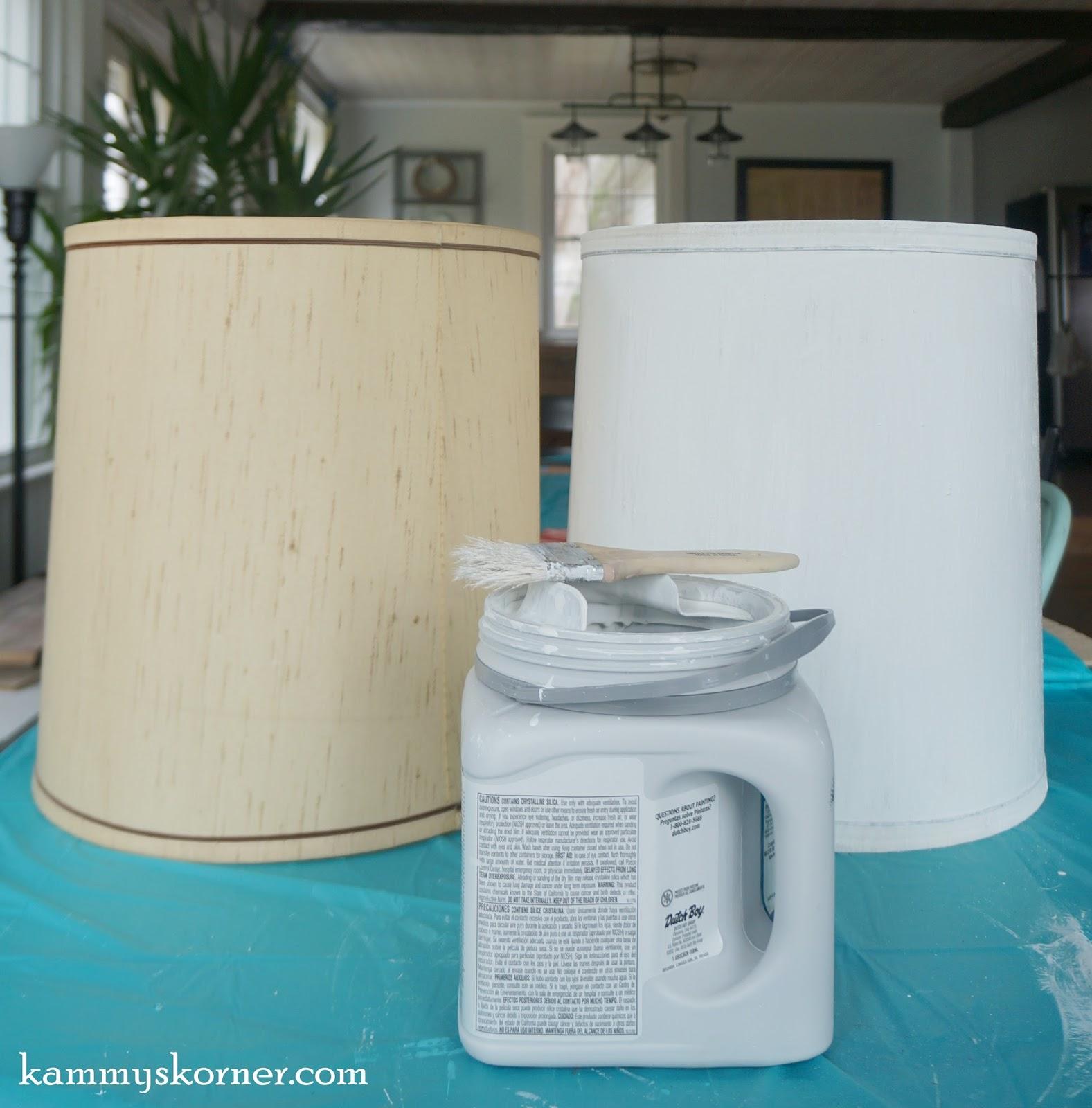 Kammys Korner Painting Lamp Shades Pros Cons