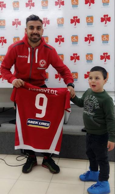 Πολυτιμότερος παίκτης του ματς Πλατανιάς - Κέρκυρα αναδείχθηκε ο Γιώργος Μανούσος