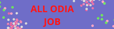 ALL ODIA JOB