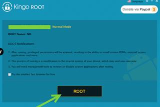 Cara Root Vivo Y51L Menggunakan Kingo Root