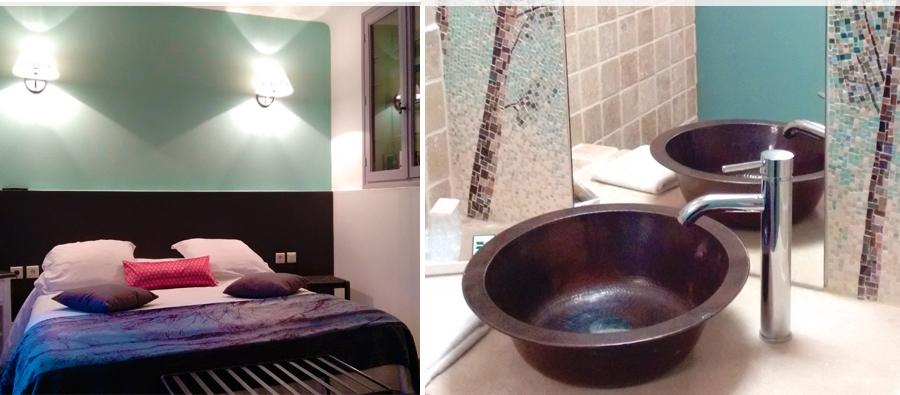 amadera meuble et d coration le charme thique du mexique authentique une vasque en cuivre. Black Bedroom Furniture Sets. Home Design Ideas