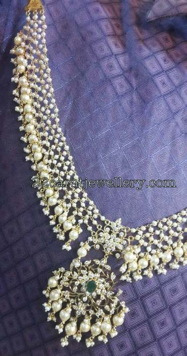 Heavy Look Pearl Necklace