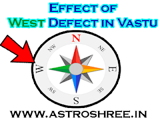 what are the solutions of west side defects in vaastu