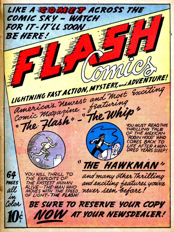 Read online All-American Comics (1939) comic -  Issue #9 - 57