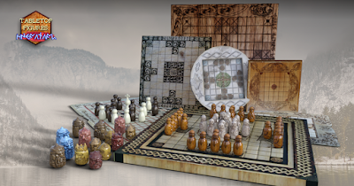 The ultimate Viking companion Tabletop Figures - Hnefatafl is on!