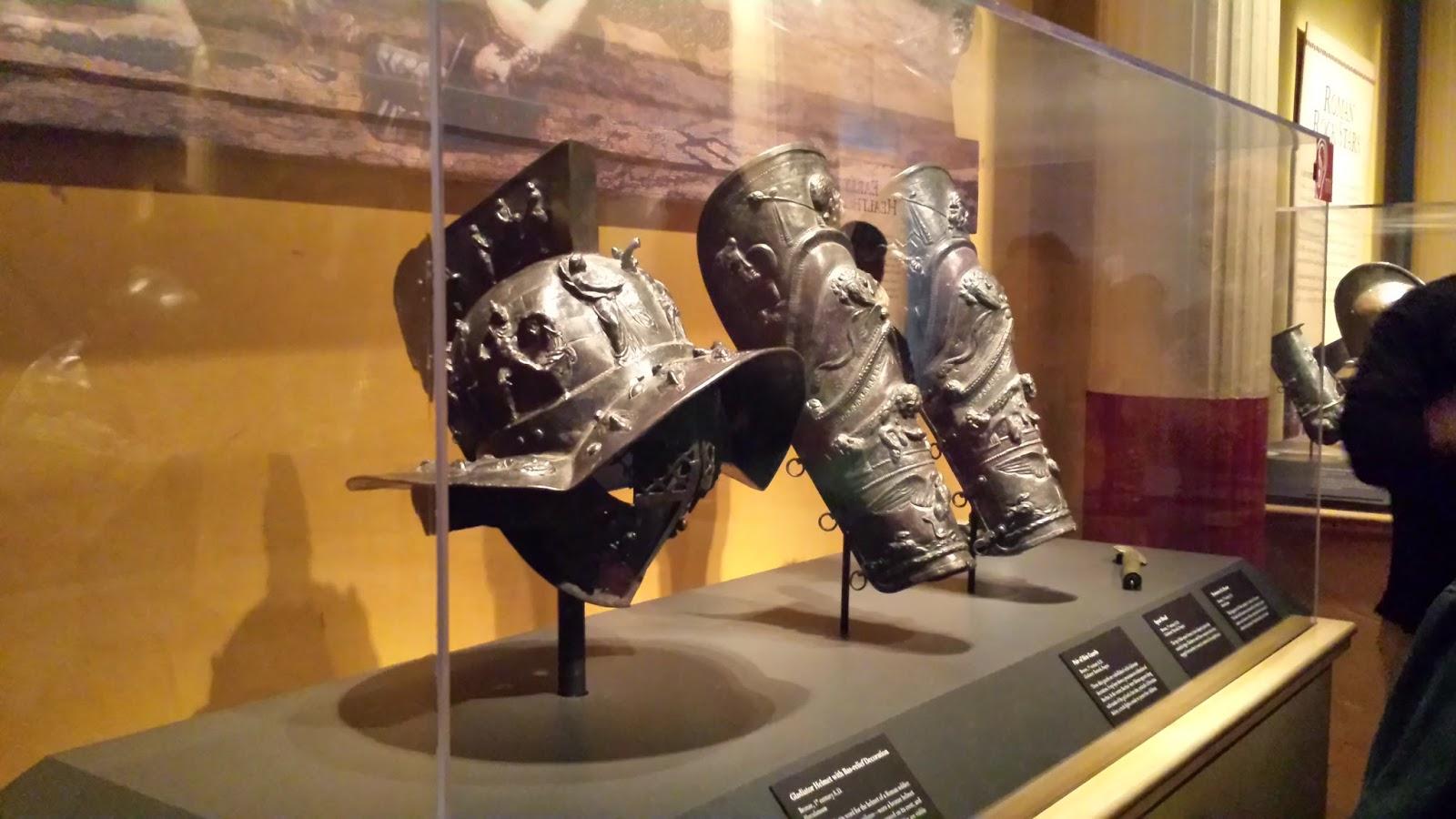 Gladiator armor
