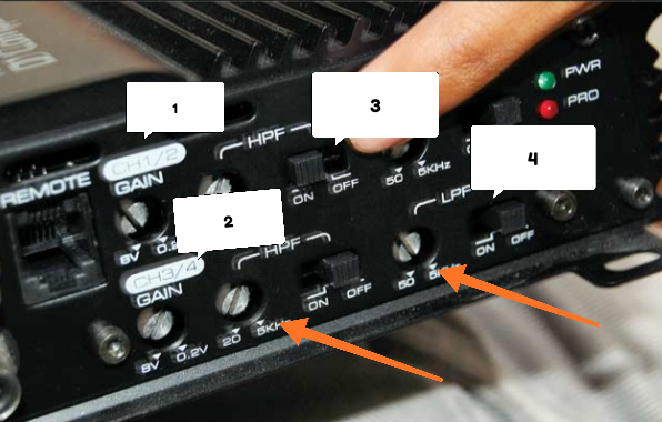 Cara setting crossover audio mobil