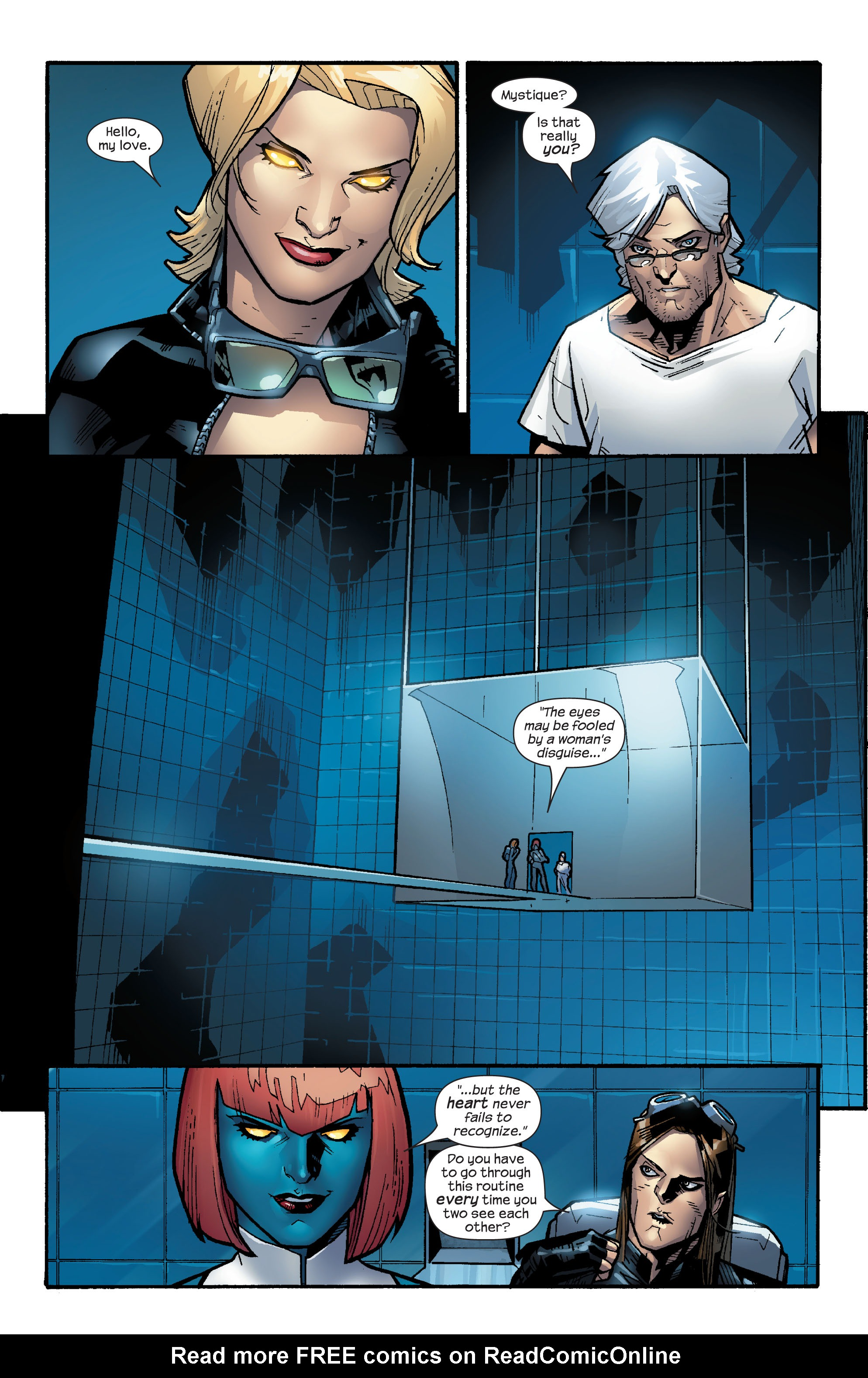 Read online Ultimate X-Men comic -  Issue #64 - 20