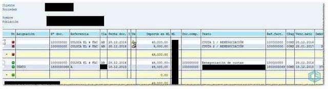 FBL5N en SAP - Consultoria-SAP