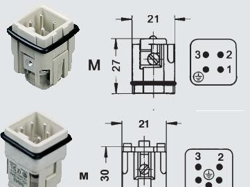 HA Serie Connector sibas