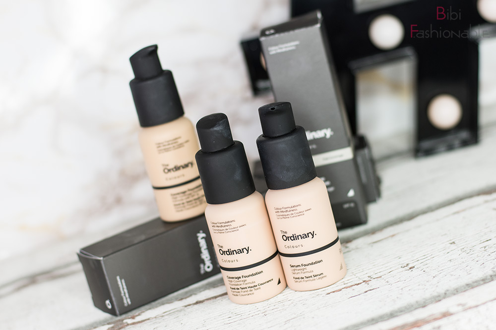 The Ordinary Serum und Coverage Foundation