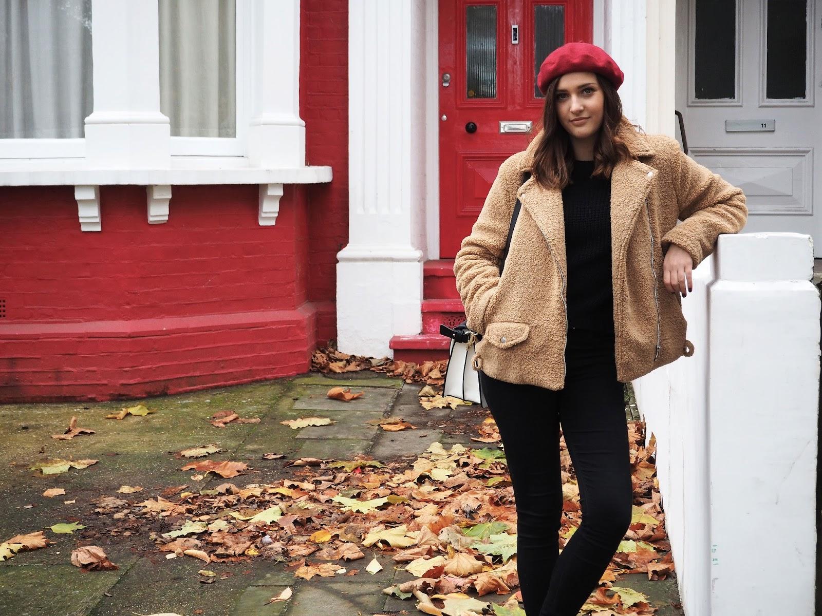 Autumn Style - Teddy Bear Coat Missguided - LAUREN ROSE STYLE - Fashion Blogger - London Street Style