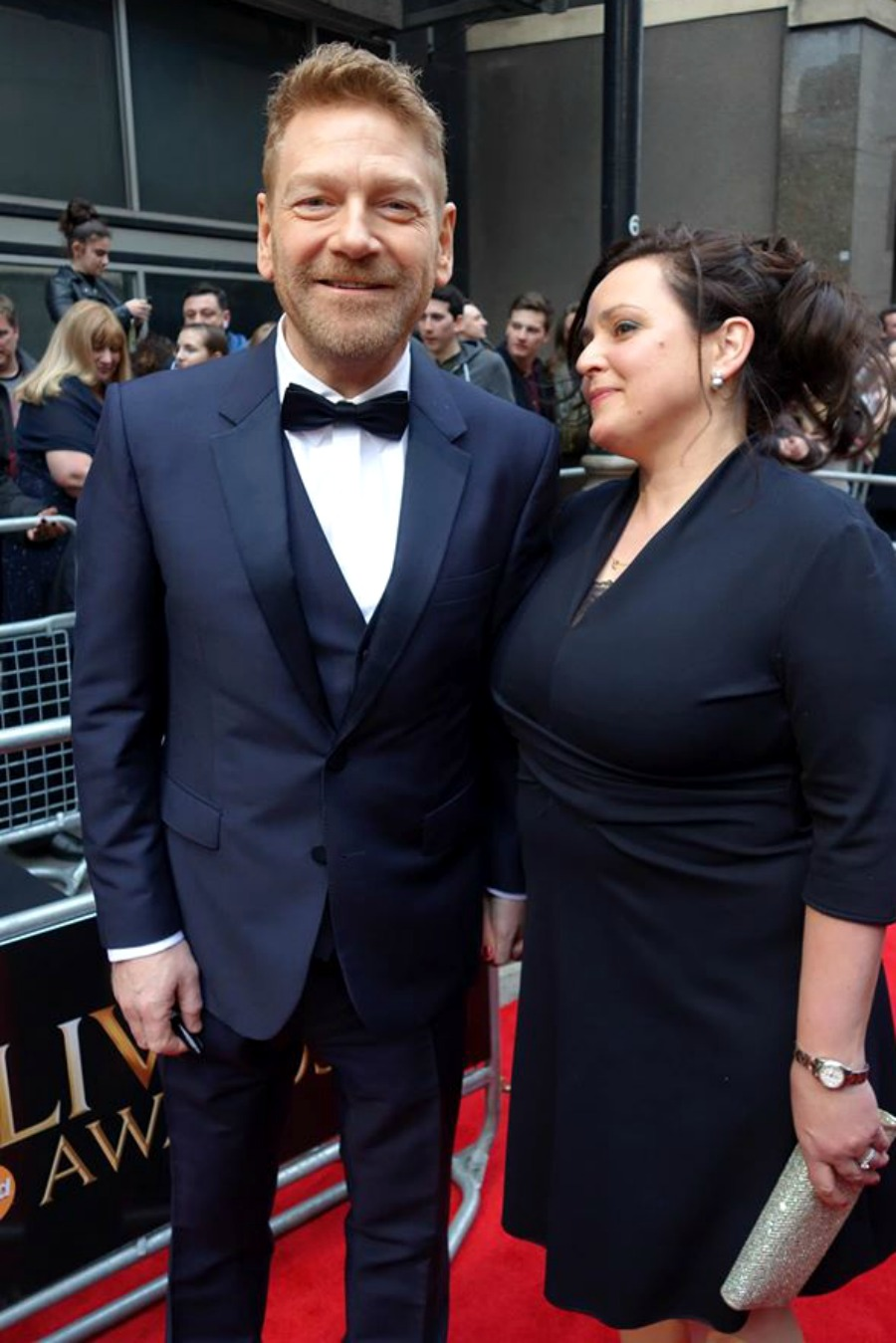 Kenneth Branagh Olivier Awards 2016