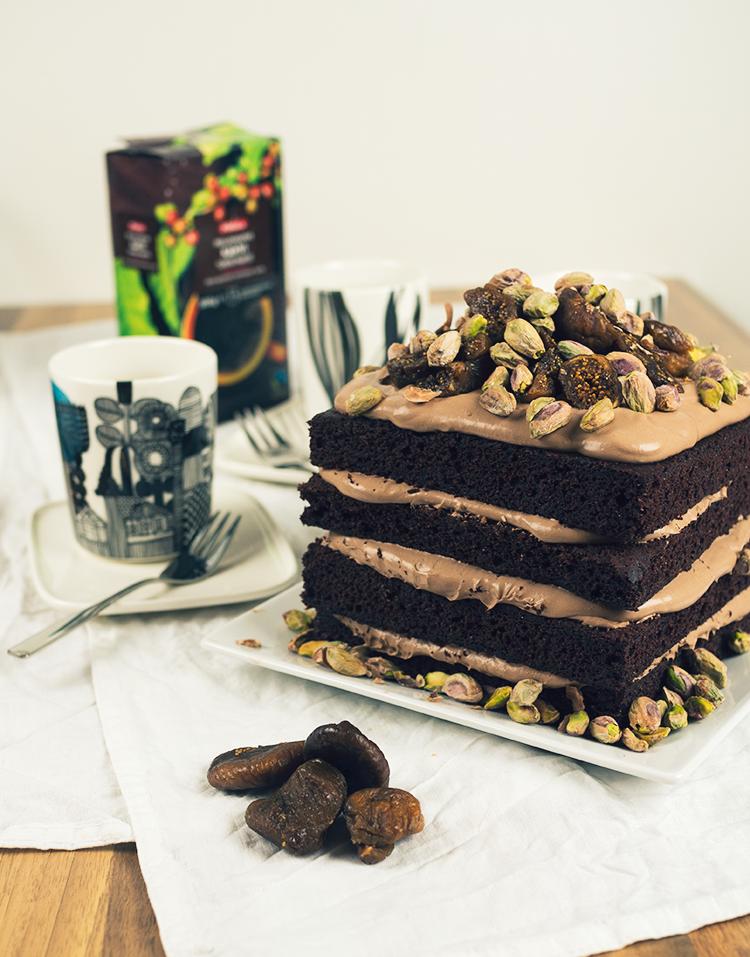 todella hyvä suklaakakku