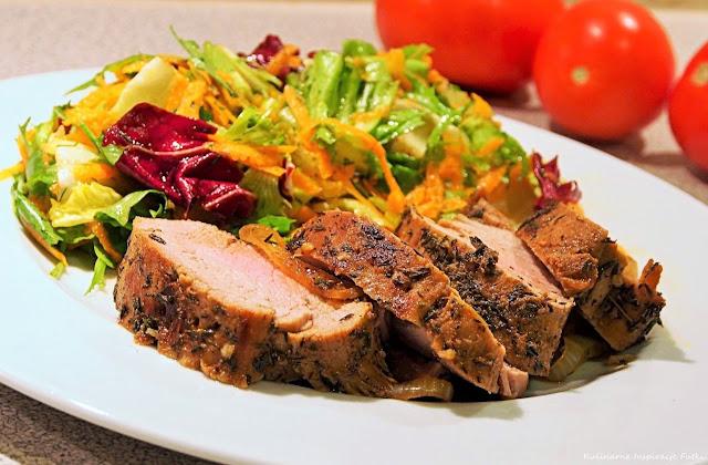 mięso pieczone w rękawie