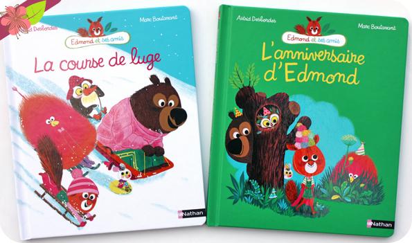 La course de luge & L'anniversaire d'Edmond d'Astrid Desbordes et Marc Boutavant - Nathan
