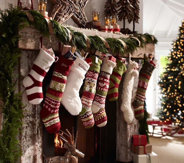 The Little Green Chair Christmas Stockings