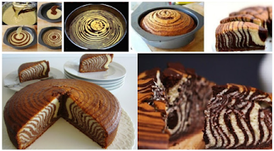 Resep Zebra Cake Lembut dan Praktis