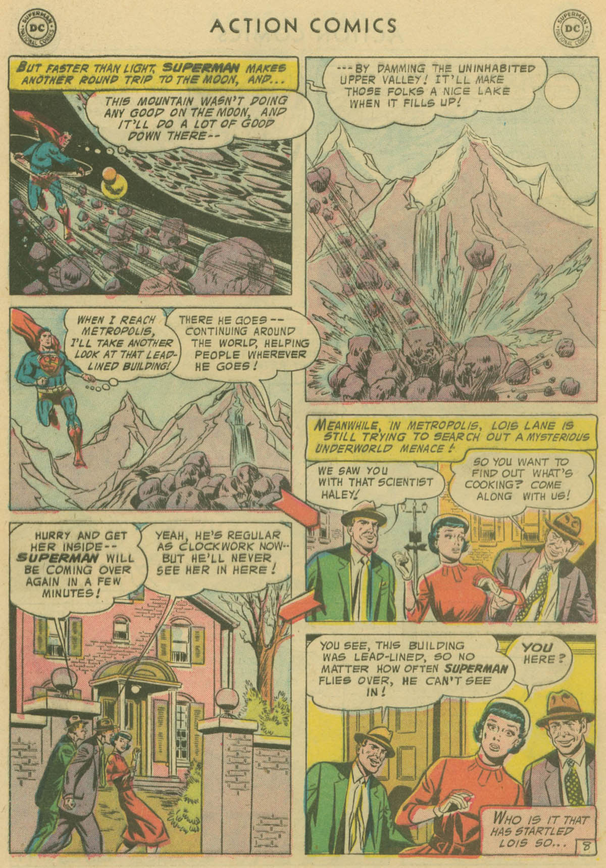Read online Action Comics (1938) comic -  Issue #229 - 9