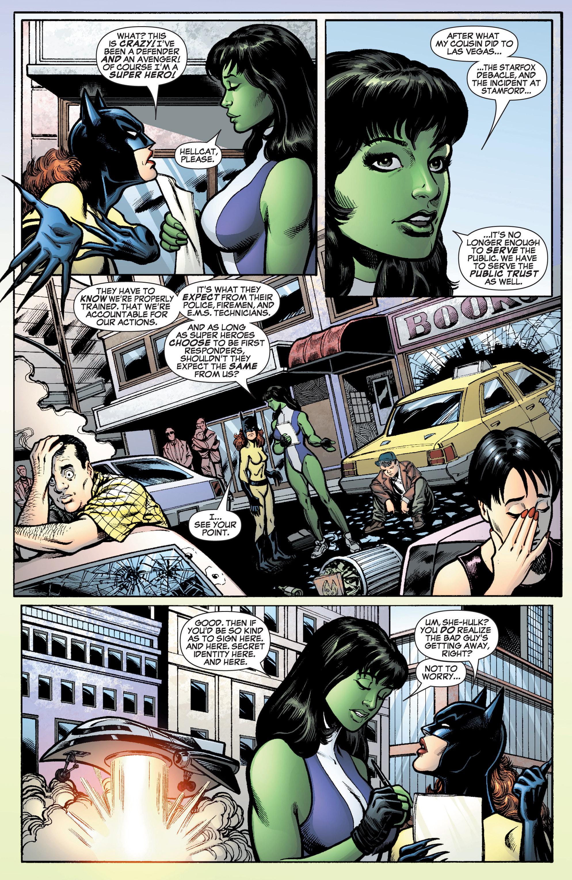 Read online She-Hulk (2005) comic -  Issue #10 - 4