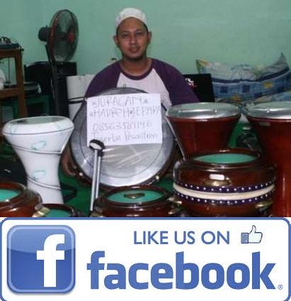 Penjual Rebana hadroh jepara H.Muhsin