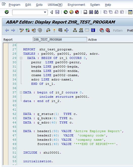 Abap code vulnerabilities.