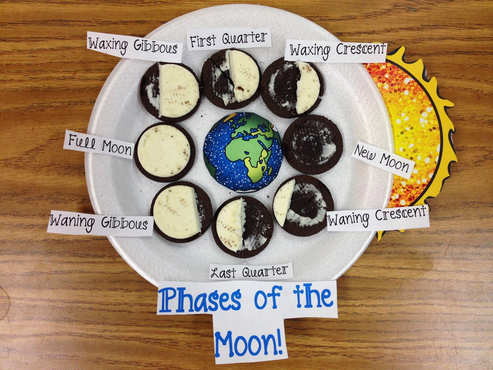 Glitter In Third Phases Of The Moon With Oreo Cookies