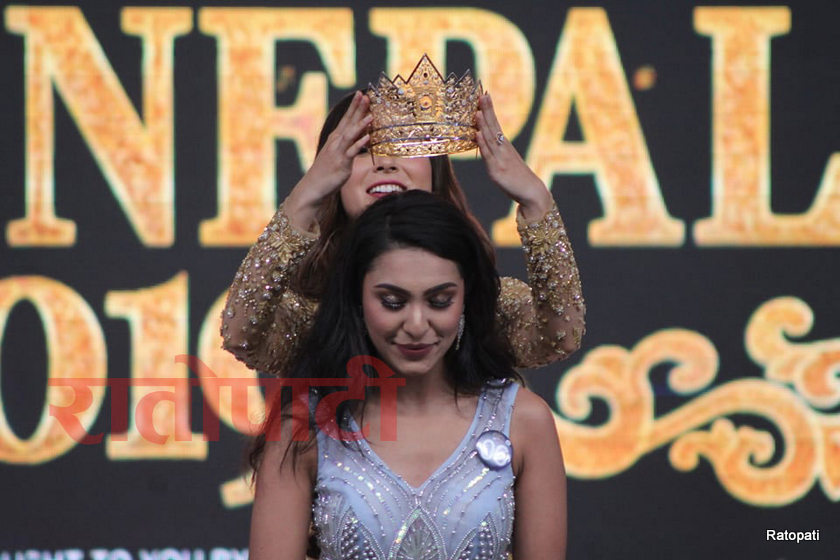 Anushka Shrestha, MIss Nepal 2019