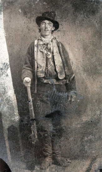 Foto Billy The Kid (Fort Sumner, New Mexico) adalah foto termahal di dunia