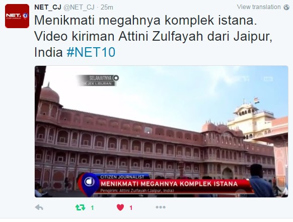 City Palace tayang di NET CJ