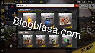 Loadout crate box basic / survival free fire