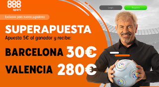 888sport superapuesta Barcelona vs Valencia 2 febrero 2019