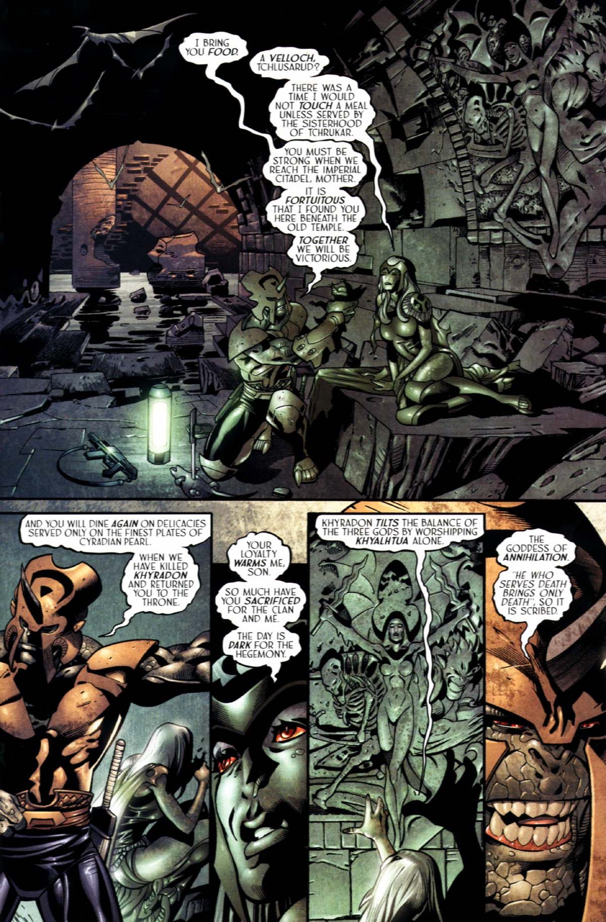 Read online Sigil (2000) comic -  Issue #21 - 15