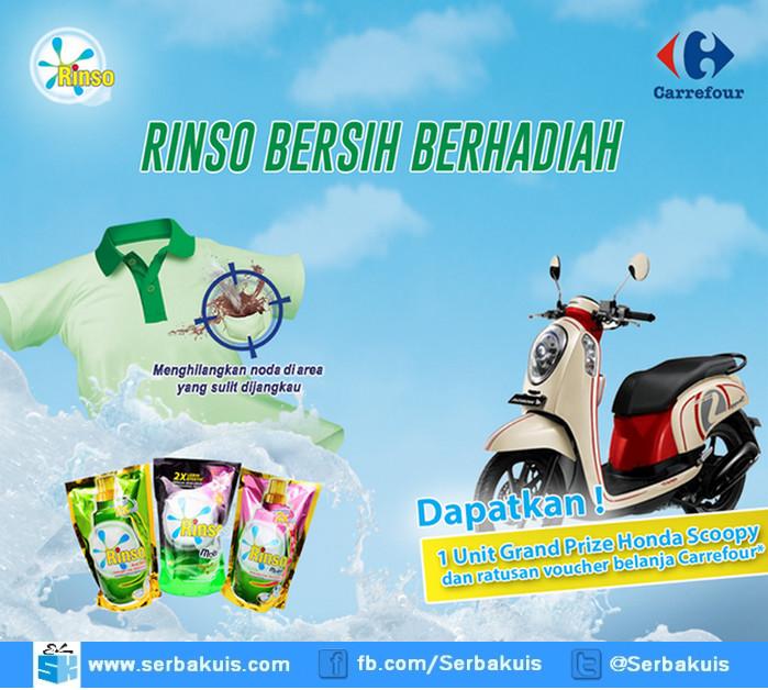 Undian Carrefour Rinso Bersih Berhadiah Honda Scoopy