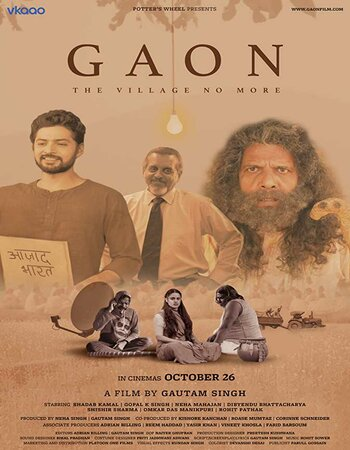 Gaon (2018) Hindi 480p HDRip x264 350MB ESubs Movie Download