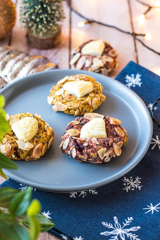 recette Cookies salés au Crottin de Chèvre