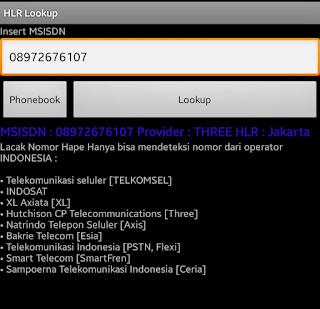 HLR Lookup adalah aplikasi android untuk melacak nomor telepon. Download aplikasi HLR Lookup Apk terbaru 2019. Dan begini cara menggunakan aplikasi HLR Lookup untuk melacak nomor telepon.